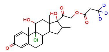Beclomethasone 21-propionate D3