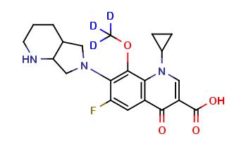 Moxifloxacin D3