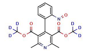 Nifedipine dehydro nitroso-d6