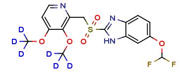 Pantoprazole Sulfone-d6