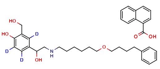 Salmeterol Xinafoate D3