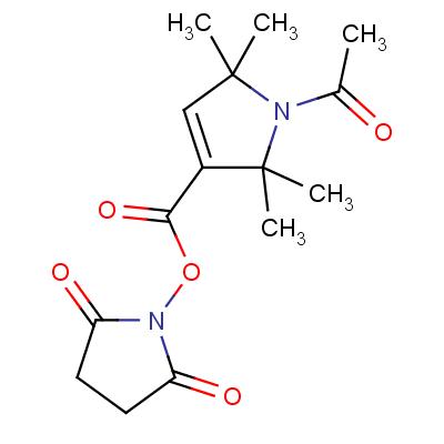 1-Acetyl-2,2,5,5-tetramethyl-3-pyrroline-3-carboxylic Acid N-Hydroxysuccinimide Ester