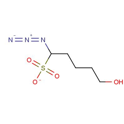 4-Azido-1-methanesulfonate-1-butanol
