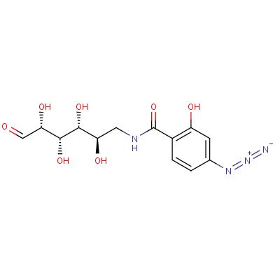 N-(4-Azidosalicyl)-6-amido-6-deoxy-glucopyranose