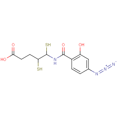 (p-Azidosalicylamido)ethyl-1,3'-dithiopropionic Acid