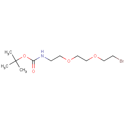 2-[2-(2-t-Boc-aminoethoxy]ethoxy]ethyl Bromide