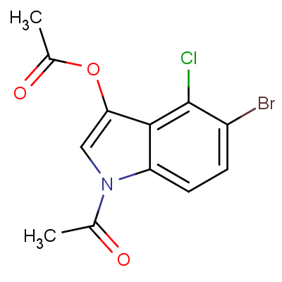5-Bromo-4-chloro-3-indolyl-1,3-diacetate