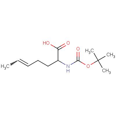 2-tert-Butyloxycarbonylamino-5-heptenoic Acid