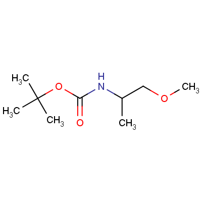 N-tert-Butyloxycarbonyl DL-Alaninol Methyl Ether