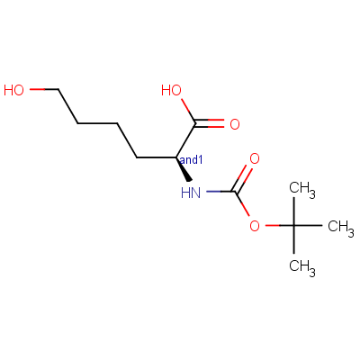 N-[tert-Butyloxycarbonyl]-6-hydroxy-DL-norleucine