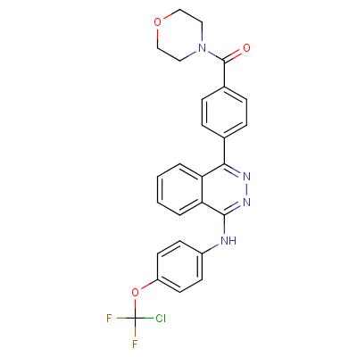 (4-(4-((4-(Chlorodifluoromethoxy)phenyl)amino)phthalazin-1-yl)phenyl)(morpholino)methanone