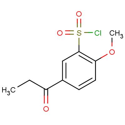 1-(3-Chlorosulfonyl-4-methoxyphenyl)-1-propanone