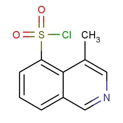 5-Chlorosulfonyl-4-methylisoquinoline