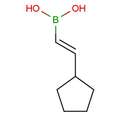 (E)-(2-Cyclopentylethenyl)boronic Acid