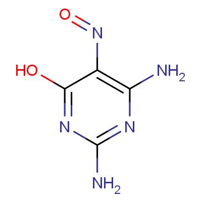 2,6-Diamino-4-hydroxy-5-nitrosopyrimidine