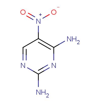 2,4-Diamino-5-nitropyrimidine