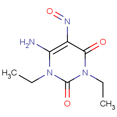 1,3-Diethyl-5-nitroso-6-aminouracil