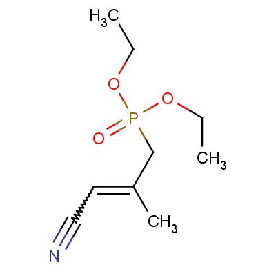 4-(Diethylphosphono)-3-methyl-2-butenenitrile, E/Z mixture