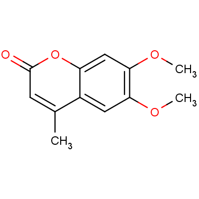 6,7-Dimethoxy-4-methylcoumarin