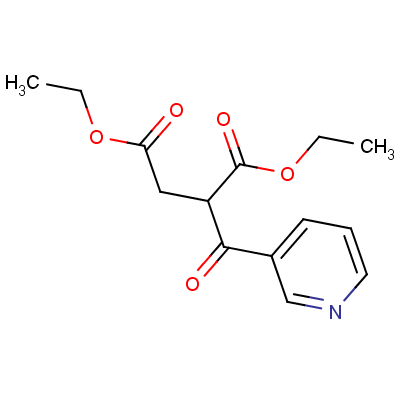 Ethyl -β-Ethoxycarbonyl-γ-oxo-3-pyridinebutyrate