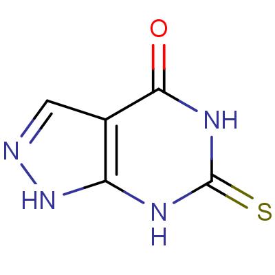 4-Hydroxy-6-mercaptopyrazolo[3,4-d]pyrimidine