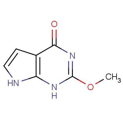 6-Hydroxy-2-methoxy-7-deazapurine