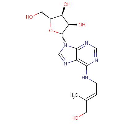 6-[(E)-4-Hydroxy-3-methylbut-2-enylamino]-9-ß-D-ribofuranosylpurine