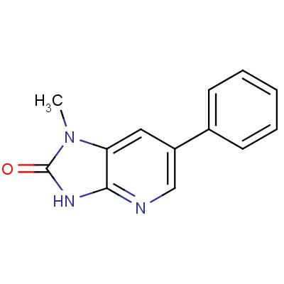 2-Hydroxy-1-methyl-6-phenylimidazo[4,5-b]pyridine