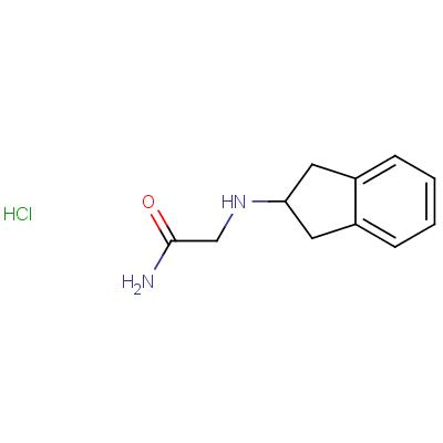 2-(Indenylamino)acetamide Hydrochloride Salt