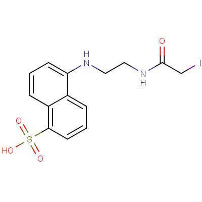 N-(Iodoacetylaminoethyl)-5-Naphthylamine-1-Sulfonic Acid