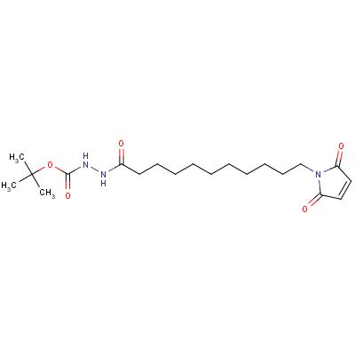 11-Maleimidoundecane-1-carbonyl-1-(t-butyl)carbazate