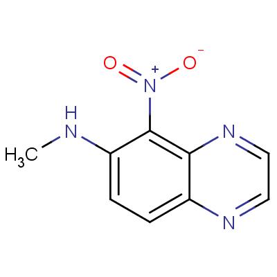 6-Methylamino-5-nitroquinoxaline