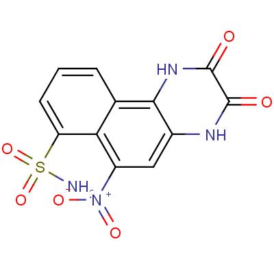 6-Nitro-7-sulfamoylbenzo[f]quinoxaline-2,3-Dione