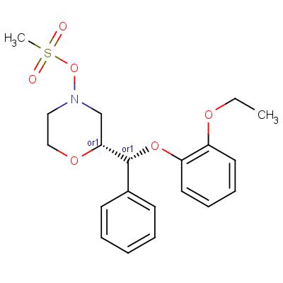 Reboxetine Mesylate