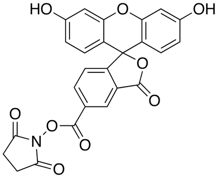 5-Carboxyfluorescein-N-hydroxysuccinimide Ester