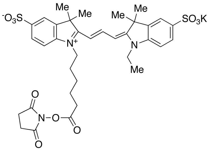 Cyanine 3 Monofunctional Hexanoic Acid Dye, Succinimidyl Ester, Potassium Salt