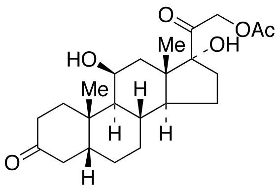 5-β-Dihydrocortisol 21-Acetate