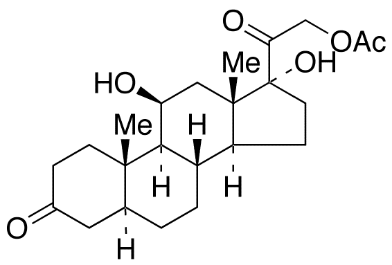5a-Dihydrocortisol 21-Acetate