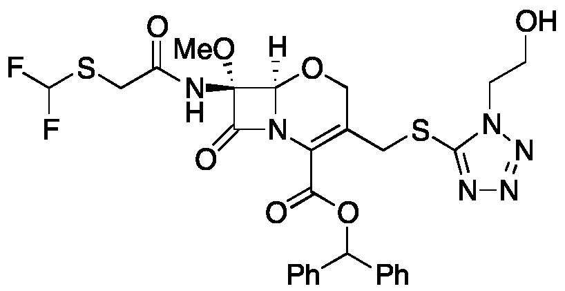 Flomoxef Benzhydryl Ester
