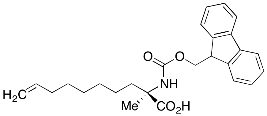 (2R)-2-[[(9H-Fluoren-9-ylmethoxy)carbonyl]amino]-2-methyl-9-decenoic Acid