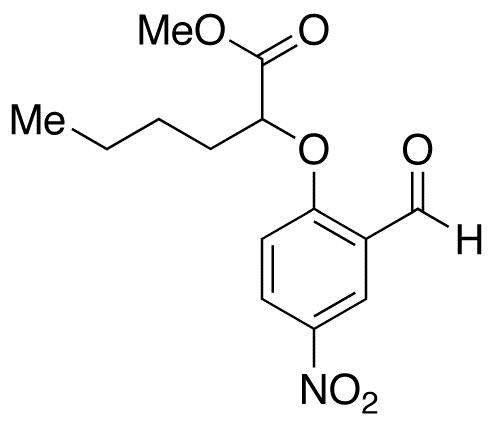2-(2-Formyl-4-nitrophenoxy)hexanoic Acid Methyl Ester