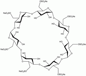 Heptakis(6-O-sulfo)-β-cyclodextrin Heptasodium Salt