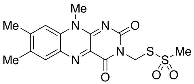 N3-Methanethiosulfonylmethyl Lumiflavin