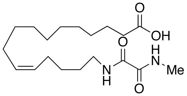 (11Z)-16-[[2-(Methylamino)-2-oxoacetyl]amino]-11-hexadecenoic Acid