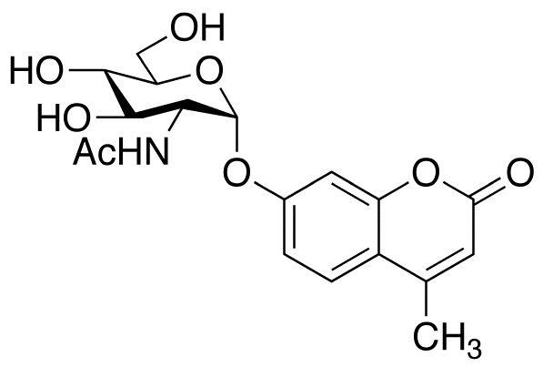 4-Methylumbelliferyl 2-Acetamido-2-deoxy-α-D-glucopyranoside