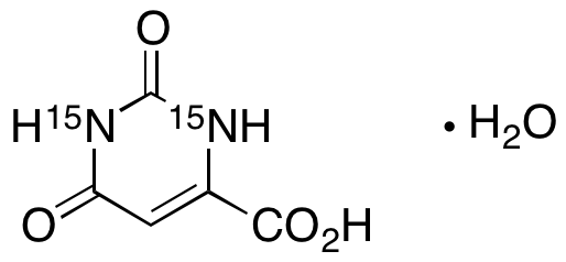 Orotic Acid 15N2 Monohydrate