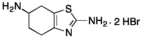 4,5,6,7-Tetrahydrobenzothiazole-2,6-diamine Dihydrobromide